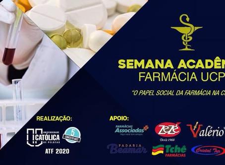 Curso de Farmácia realiza Semana Acadêmica em Pelotas