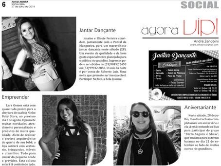 Coluna Social - Jornal Agora - 27/07/2018
