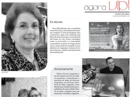 Coluna Social - Jornal Agora - 25/07/2018