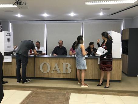 Eleição OAB 2018 ocorre com tranquilidade em Rio Grande
