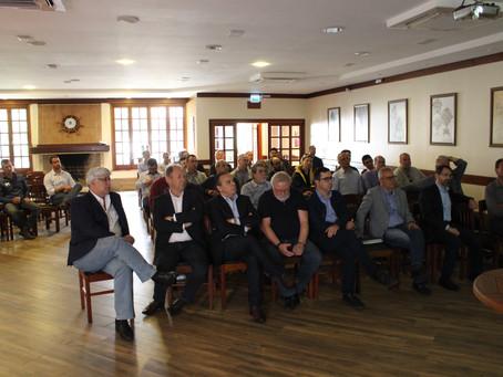 Bacchieri participa de encontro sobre lote 4 da BR-392