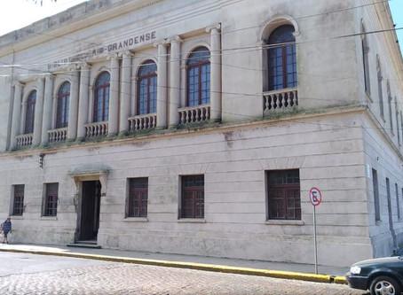 Marinha do Brasil e Superintendência do Porto realizam limpeza da Bibliotheca Rio-Grandense