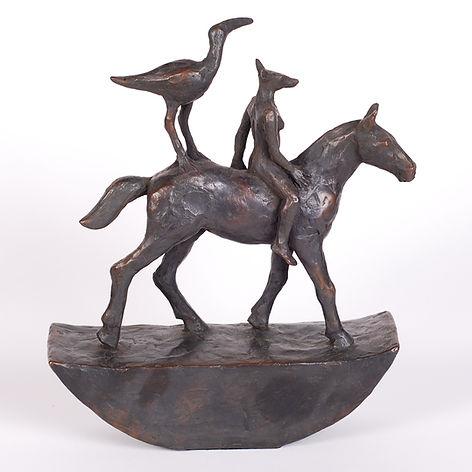Sadie Brockbank 'Horse and Riders'