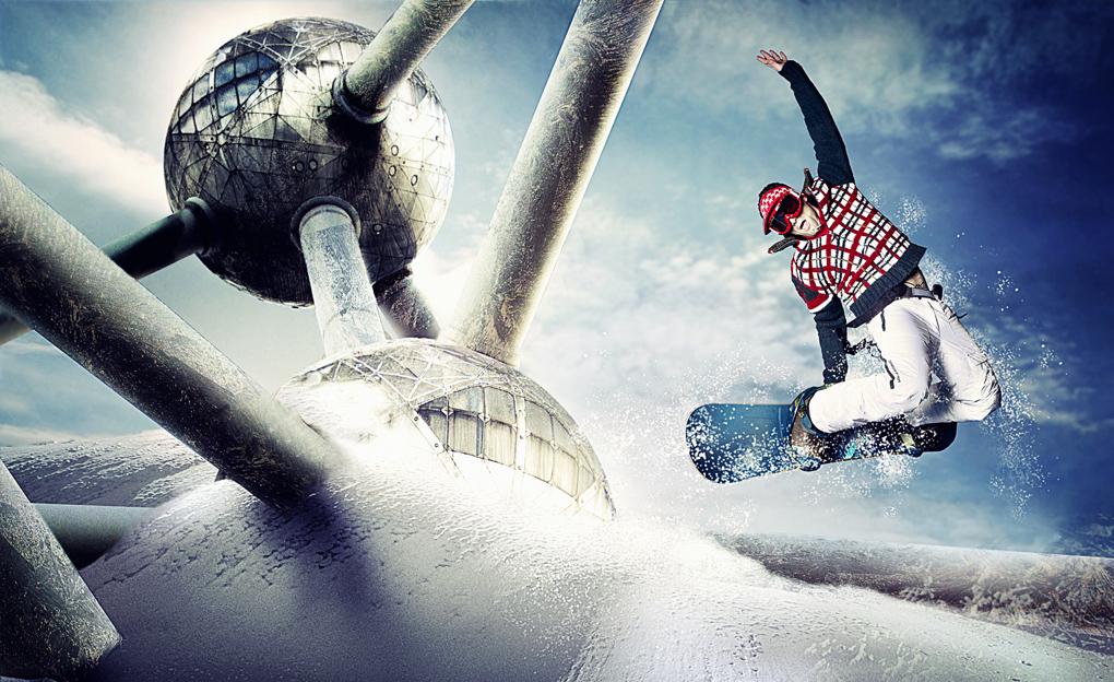 snowboard Brussel