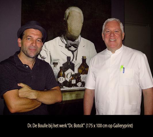 Geert De WOlf en Dr. De Boulle
