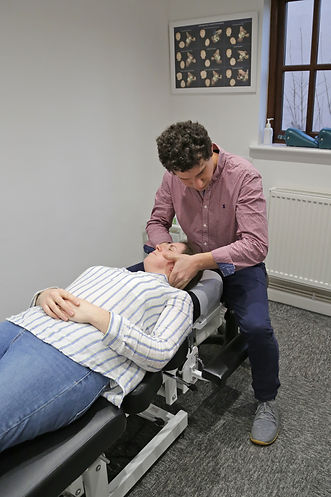 Chiropractic Adjustment Neck Pain