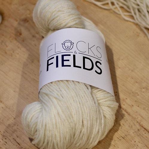 Natural Un-dyed Pure Lleyn DK Yarn
