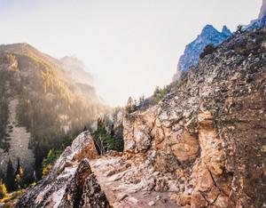 Cascade Canyon at Jenny Lake
