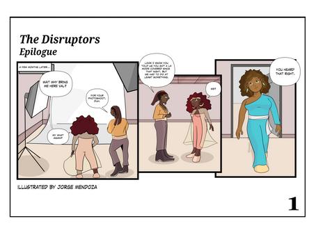 The Disruptors: Epilogue