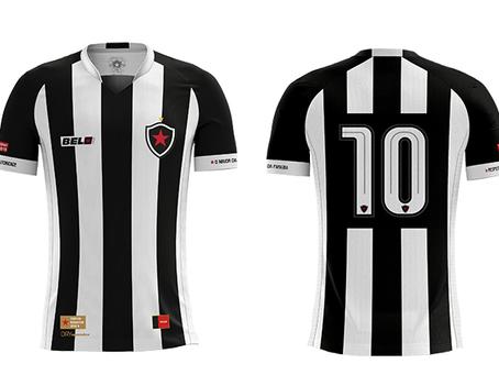 Bomache produz novos uniformes da nova Marca Própria do Botafogo/PB.