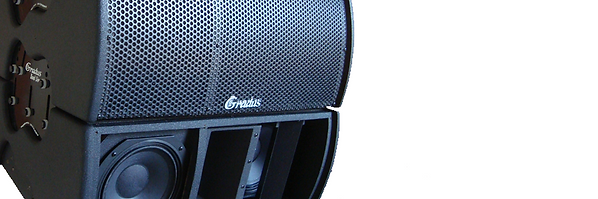 Caixas acústicas para som profissional