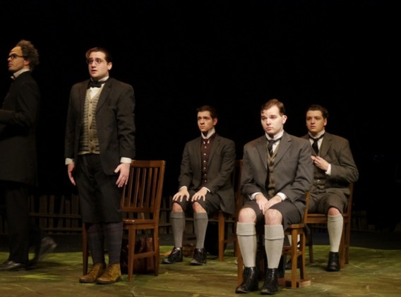 Spring Awakening Music & Lyrics by Duncan Sheik and Steven Sater   Directed by Tommy Iafrate Musically Directed by Kristi Ruffo Choreographed by JoEllen Kuhlman