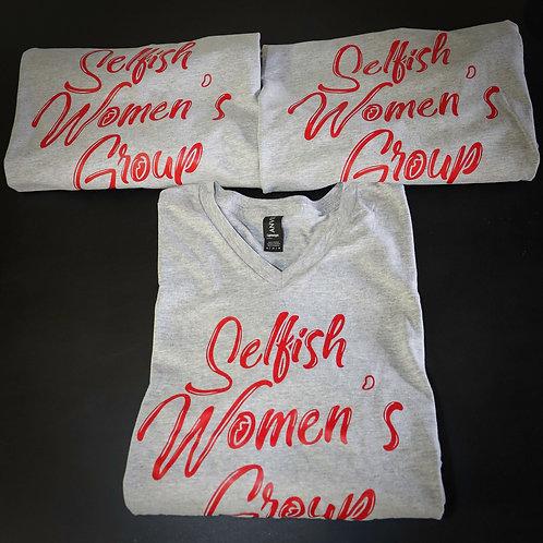 Selfish Women's Group V-Neck (unisex)