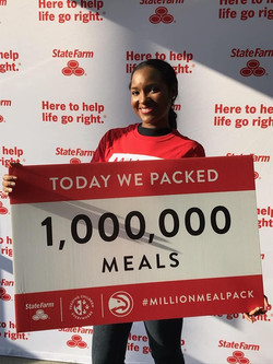 Packed One Million Meals