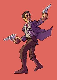 Slayers_Character-Art_Layered_Gunslinger
