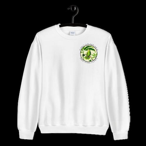 Crew Neck Sweatshirt - White