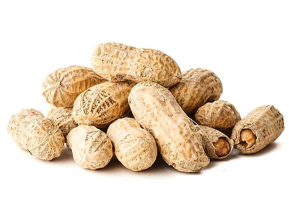 Raw in Shell Peanuts - Small/Large