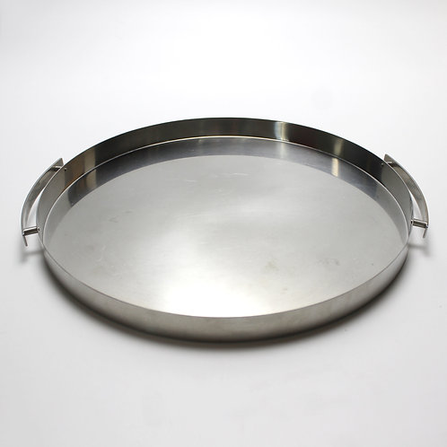 Stelton Cylinda Line Round Serving Tray by Arne Jacobsen (Small)