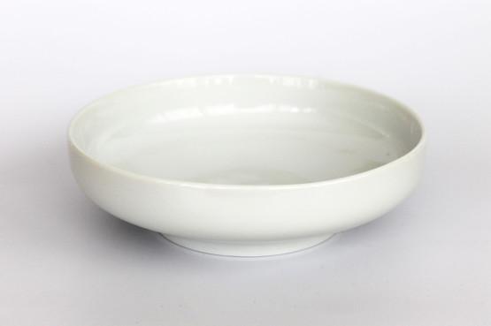 bing grøndahl grondahl B&G 425 henning koppel white hvid koppel bowl porcelain serving midcentury danish design