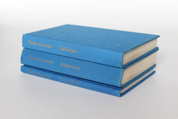Danske Guld og Sølv Smedemærker før 1870 - Vol. I-III