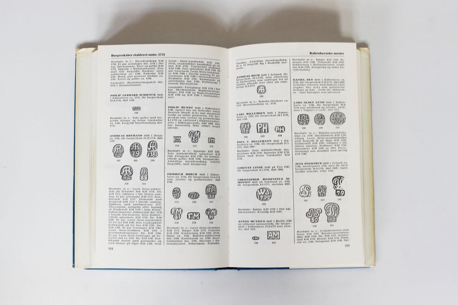Danske Guld og Sølv Smedemærker før 1870 - Vol. I - København