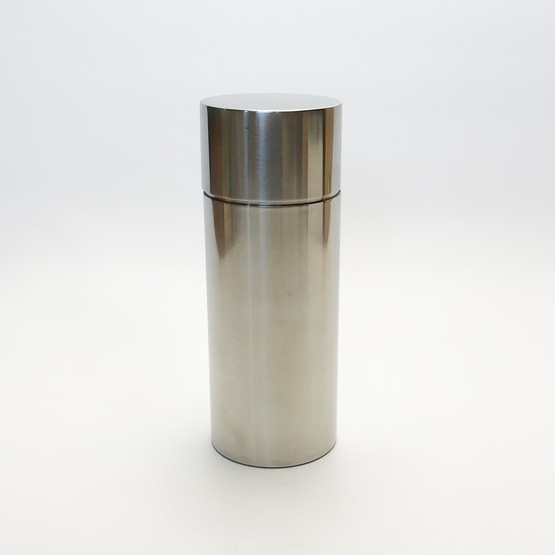 Stelton Cylindrical Cylinda Line Stainless Steel Cocktail Shaker by Arne Jacobsen