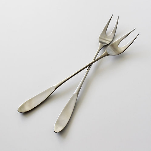 Lauffer Norway (Towle) 'Magnum' Meat Serving Forks by Don Wallance