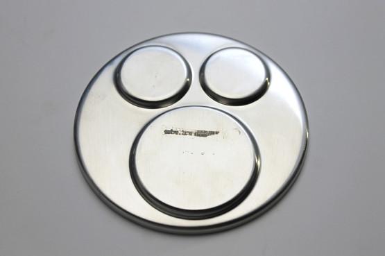 stelton cruet set plat de menage cylinda line arne jacobsen salt pepper mustard pot jar shaker plate stainless minimalism mcm