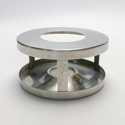 Stelton Cylinda Line Tea Pot Stand/Food Warmer by Arne Jacobsen