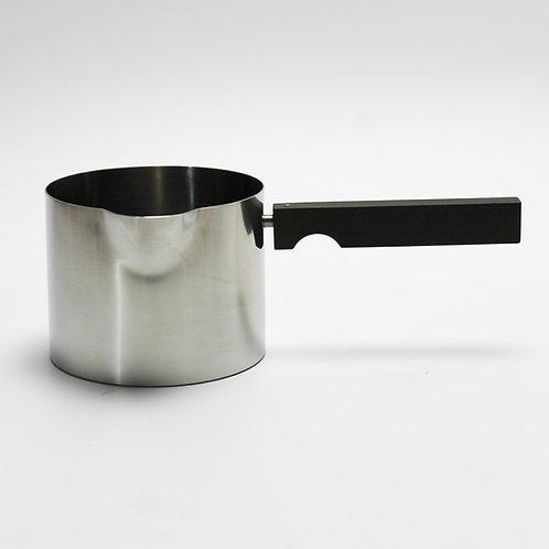 Stelton Cylinda Line Sauce Pot Arne Jacobsen Cylindrical Minimalist Stainless Steel Handle