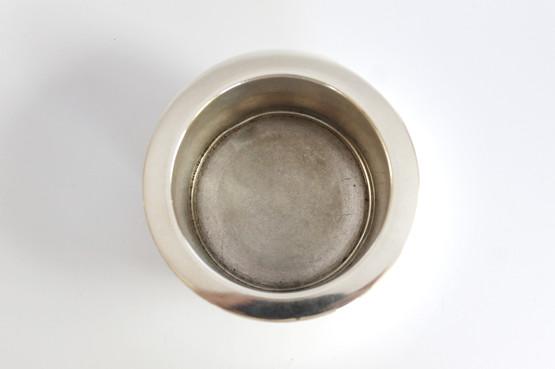 danish sterling silver georg jensen harald nielsen dolphin powder box jar bonbonniere art deco trinket vanity fish 150D