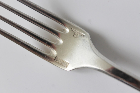 air france airline cutlery knife fork souvenir logo christofle french lunch luncheon