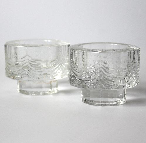Iittala Kuusi Tealight Candle Holders Jorma Vennola Fir Trees Christmas Winter Spruce