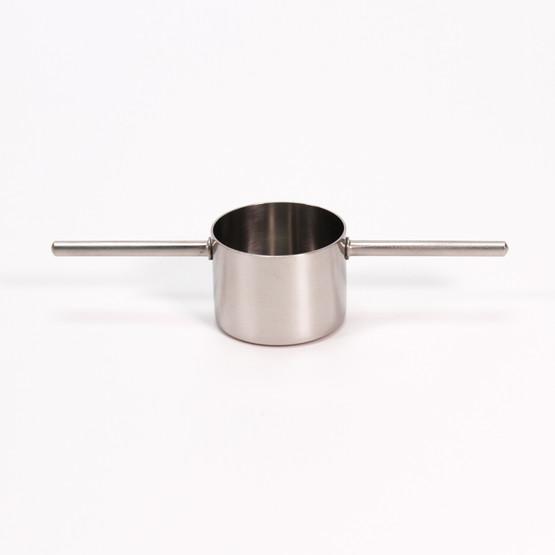 stelton cylinda line peter holmblad danish design cocktail measure alcohol jigger drink barware stainless minimalist 2cl oz