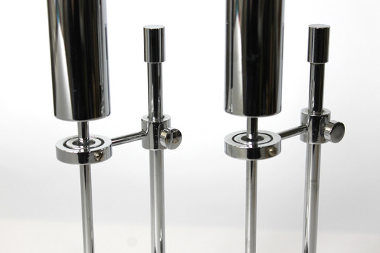 danish design chrome brass candle holder oil lamp pendulum ilse ammonsen high shine gyro ship daproma copenhagen