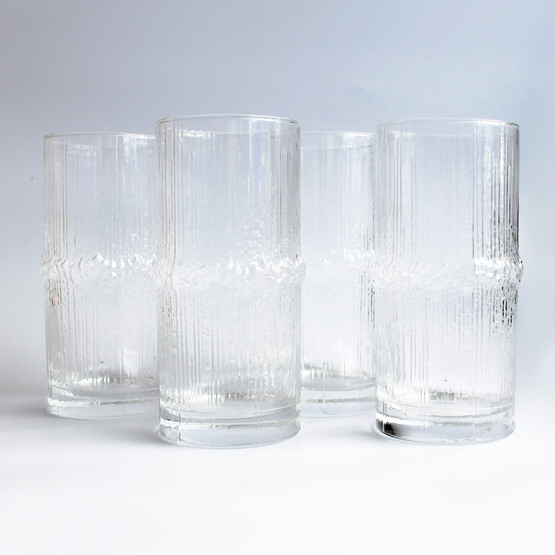 finnish iittala glass design tapio wirkkala ice water modernist cold running river finland beer drink four