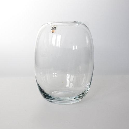 Holmegaard Piet Hein 'Superellipse' Glass Vase