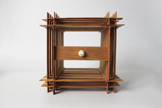 scandinavian veneer panels wooden slat lamp shade 1970s hans agne jacobsson jakobsson lamella ceiling pendant