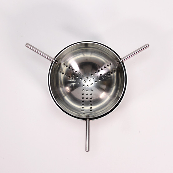 stelton cylinda line tea leaf strainer arne jacobsen jacobsson stand cylinder minimalist design table breakfast danish modern