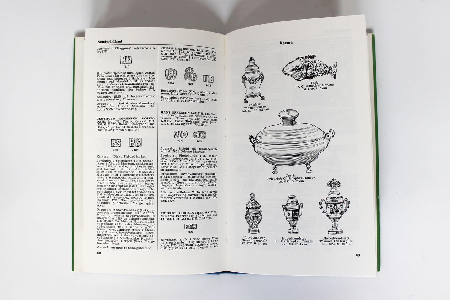 Danske Guld og Sølv Smedemærker før 1870 - Vol. III - Sønderjylland