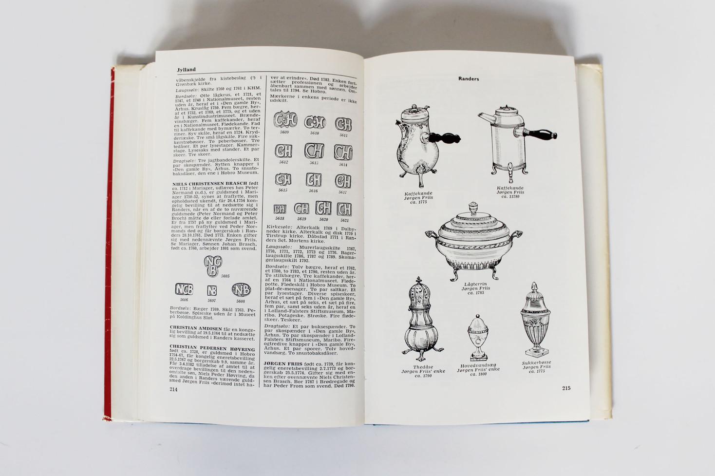 Danske Guld og Sølv Smedemærker før 1870 - Vol. II - Købsstæderne