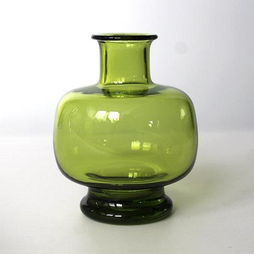 Holmegaard May Green/Majgrøn Vase No. 18159 by Per Lütken