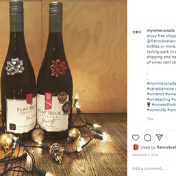 Announcing free shipping of Flat Rock wines