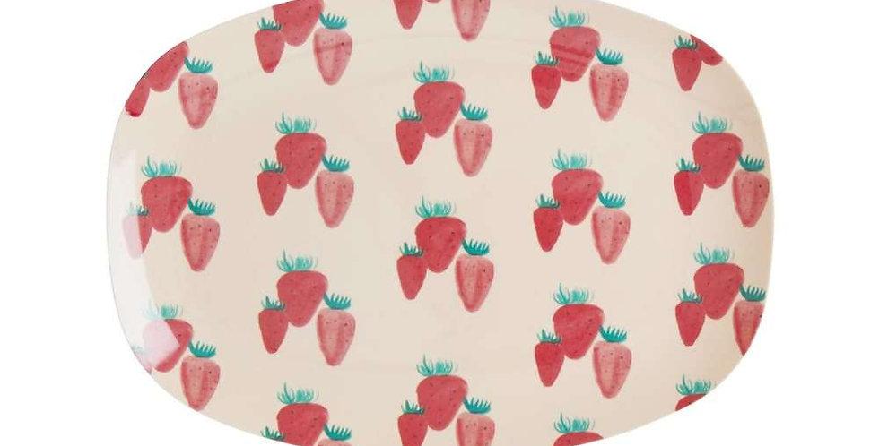 Rice Servierteller Strawberry klein