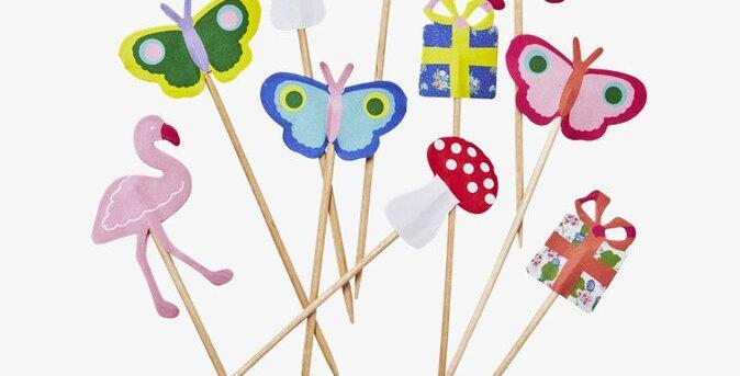10 Party Sticks Set