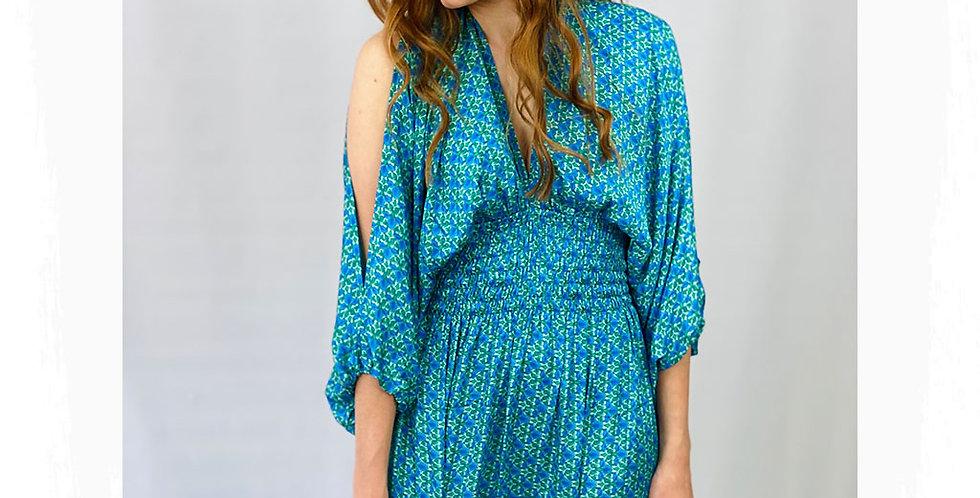 DolceQuela Kleid Blau