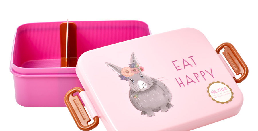 "RICE Brotdose Lunchbox ""Farm Animals"""