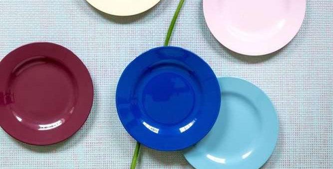 "Rice Melamin Teller ""Urban Colors"""