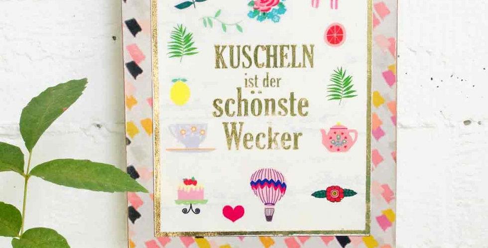 Noi - Wandbild Kuscheln