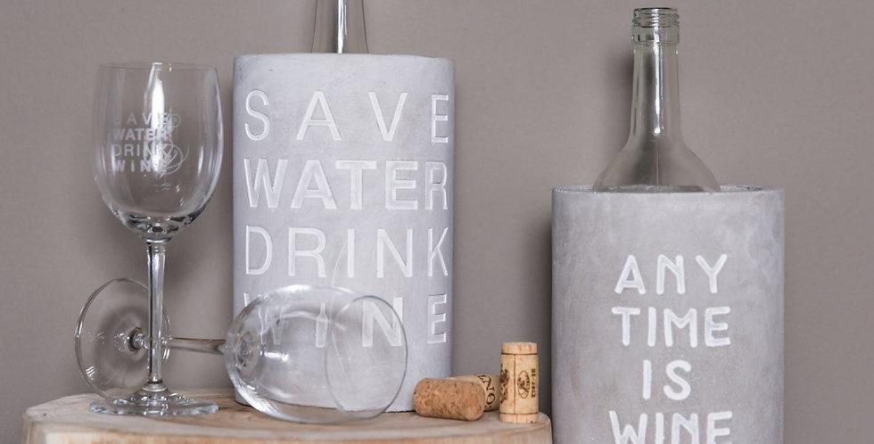 Flaschenkühler Design Räder